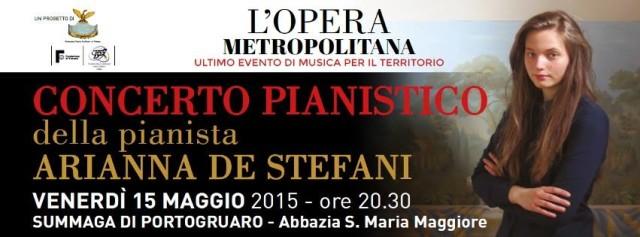 Cartellone Arianna De Stefani