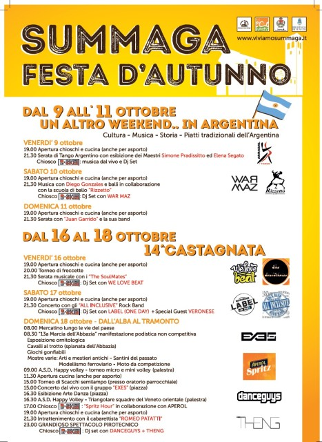 Locandina A3 Castagnata 2015