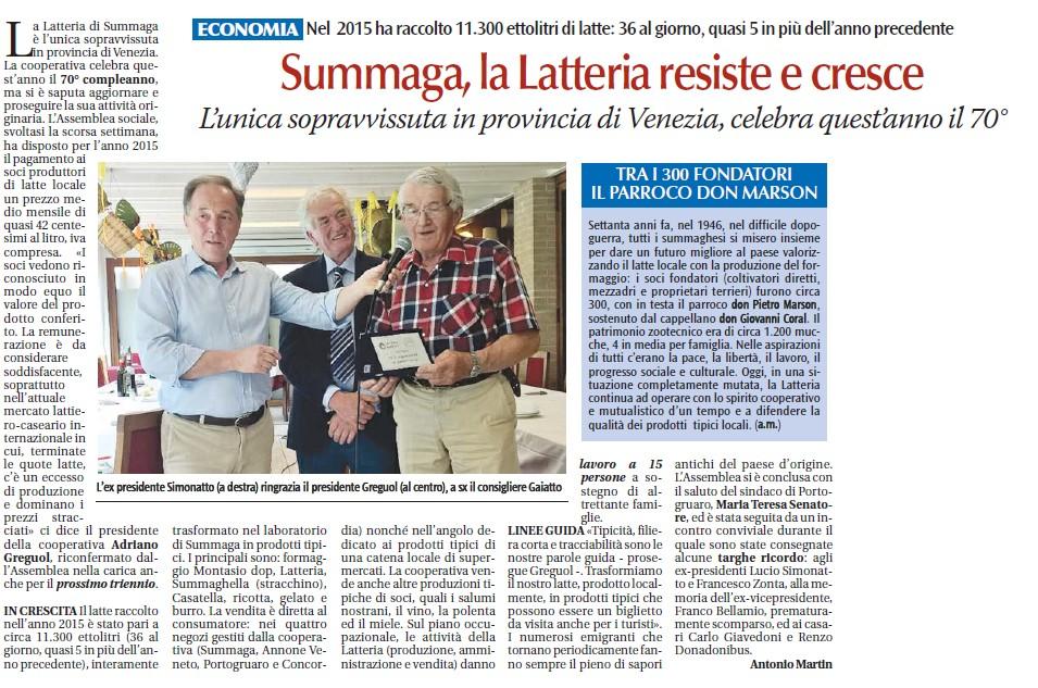 2016_Articolo Latteria Summaga sul Popolo