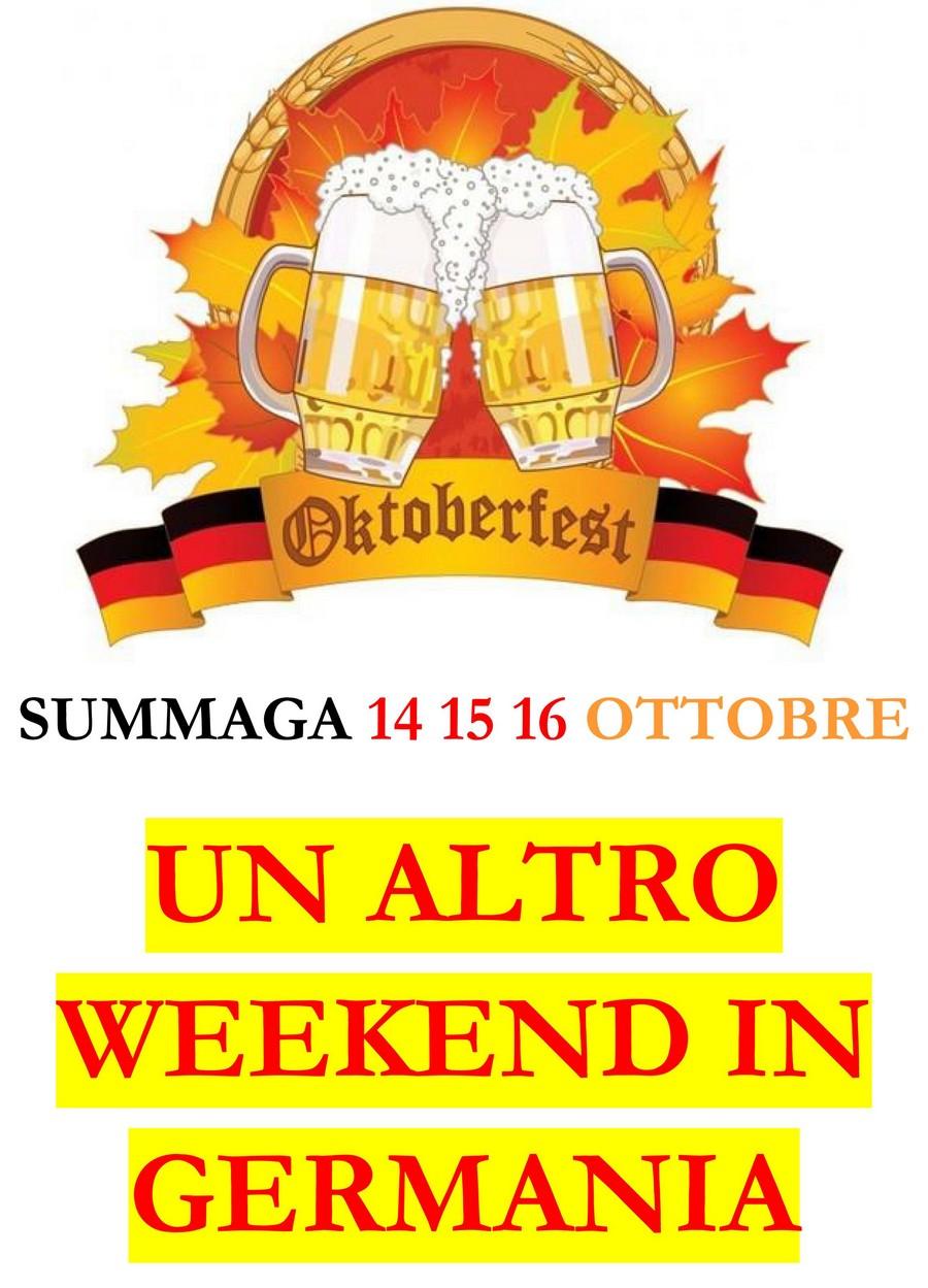 Un altro weekend germania ottobre 2016
