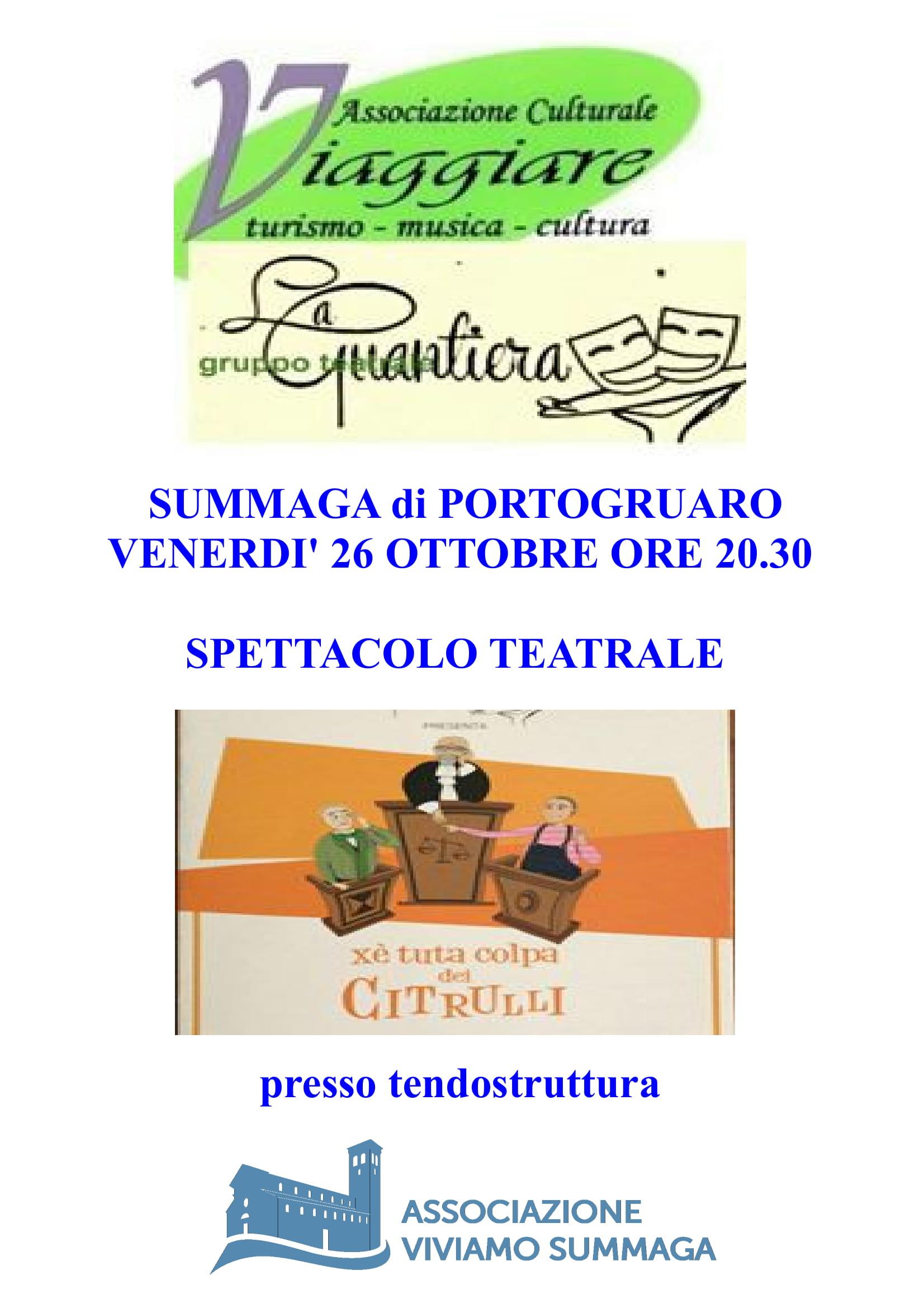 Spettacolo Teatrale La Guantiera